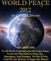 Click for Ron Ario's World Peace 2012 Event page