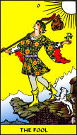 The RWS-Rabbi's Tarot Fool 00gateway