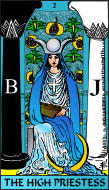 The RWS-Rabbi's Tarot High Priestess 02gateway