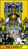 The RWS-Rabbi's Tarot  Chariot 07gateway