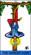 The RWS-Rabbi's Tarot  Hanged Man 12gateway