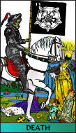 The RWS-Rabbi's Tarot  Death 13gateway