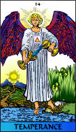 The RWS-Rabbi's Tarot  Temperance 14gateway