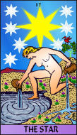 The RWS-Rabbi's Tarot  Star 17gateway