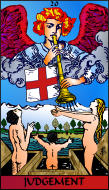 The RWS-Rabbi's Tarot  Judgement 20gateway
