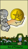 The RWS-Rabbi's Tarot  Ace Pentacles p01gateway