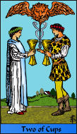 The RWS-Rabbi's Tarot  Two Cups c02gateway