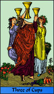 The RWS-Rabbi's Tarot  Three Cups c03gateway