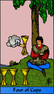 The RWS-Rabbi's Tarot  Four Cups c04gateway