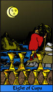 The RWS-Rabbi's Tarot  Eight Cups c08gateway