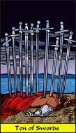 The RWS-Rabbi's Tarot  Ten Swords s10gateway