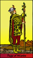 The RWS-Rabbi's Tarot Page Wands w11gateway