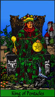 The RWS-Rabbi's Tarot  King Pentacles p14gateway